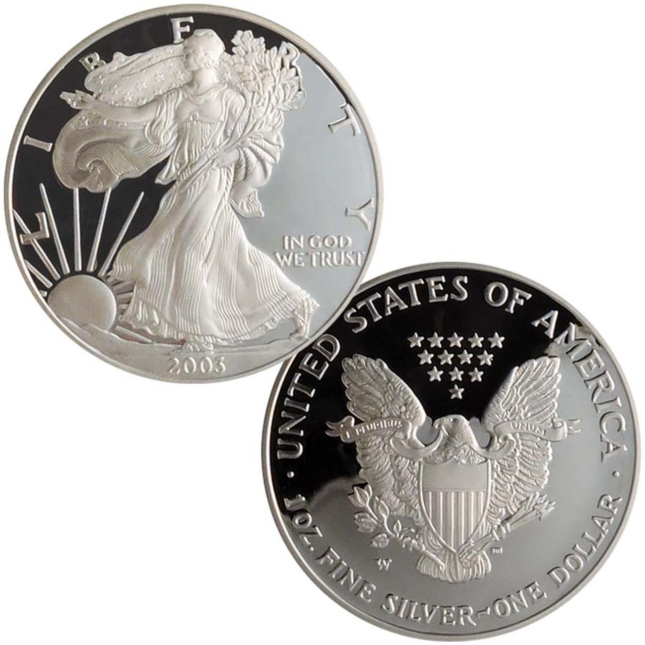 2003 Silver Eagle Proof Image 1