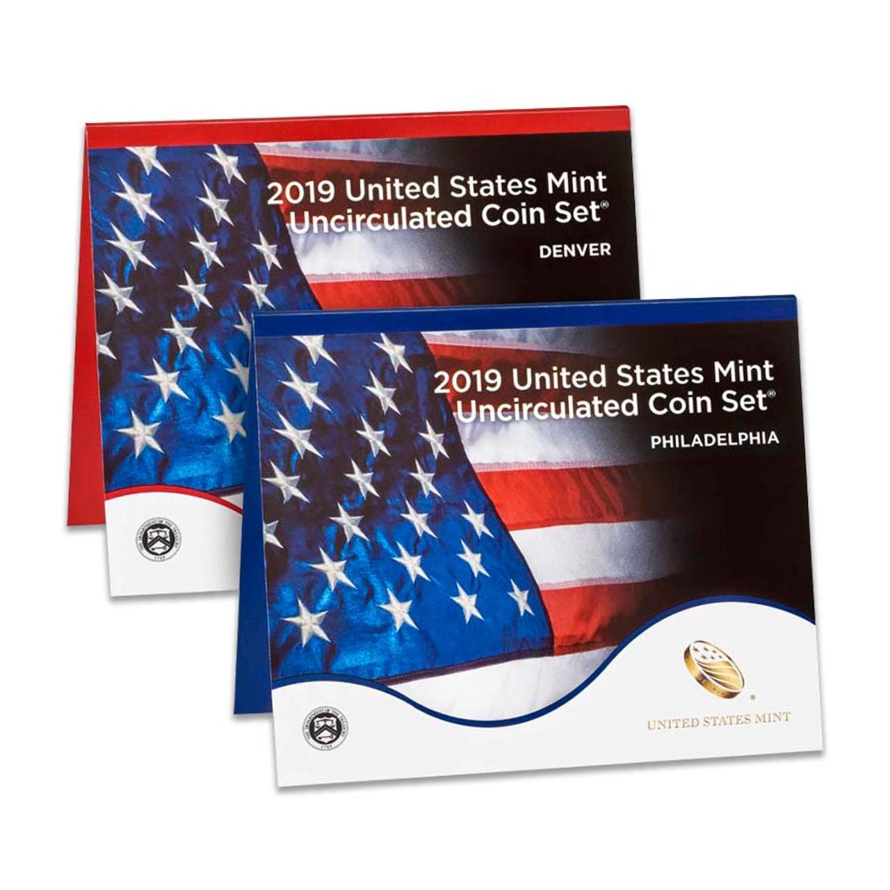 2019 Mint Set 20 Coins Image 1