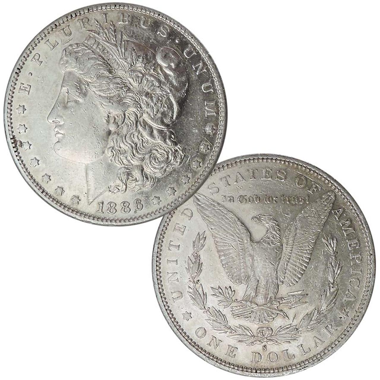 1886-S Morgan Silver Dollar Extra Fine