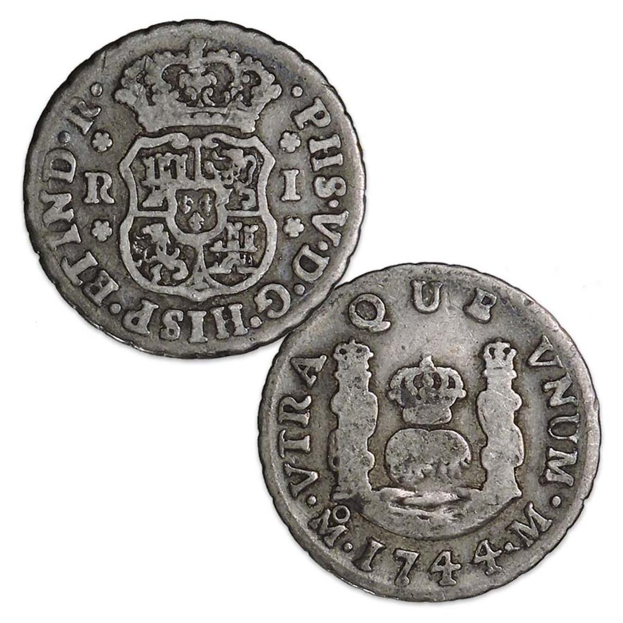 Mexico 1732-1772 Pillar 1 Real Image 1