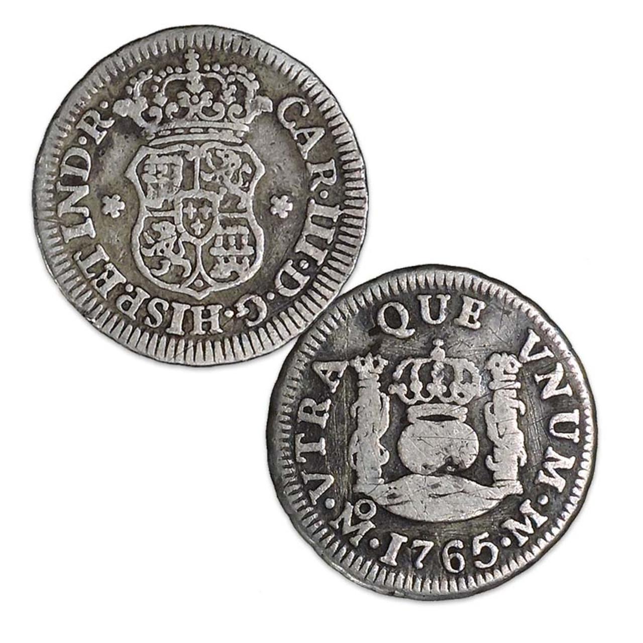 Mexico 1732-1772 Pillar 1/2 Real Image 1