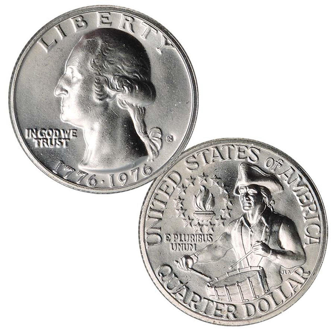 1976-S Washington Quarter 40% Silver Brilliant Uncirculated Image 1