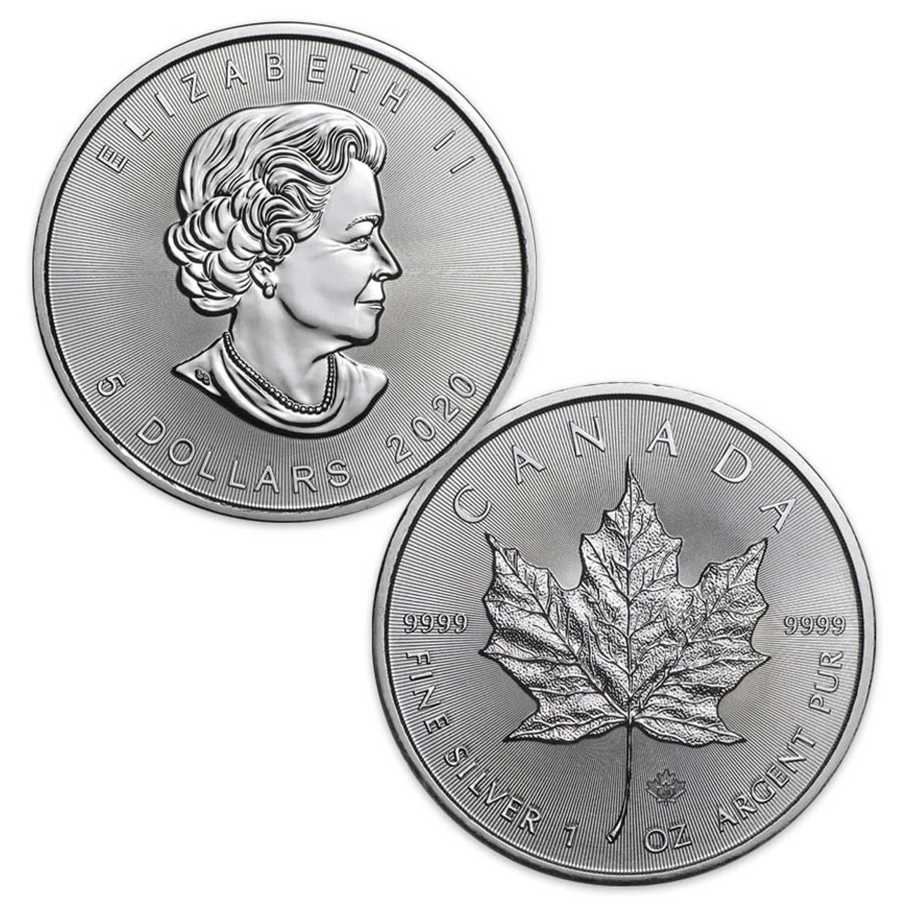 Canada 2020 Maple Leaf 1-Oz. Silver Brilliant Uncirculated Image 1