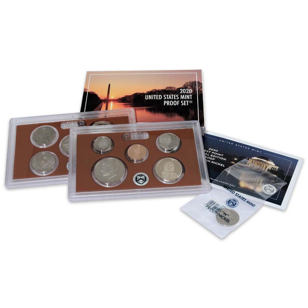 2020 Proof Set 10 Coins Image 1