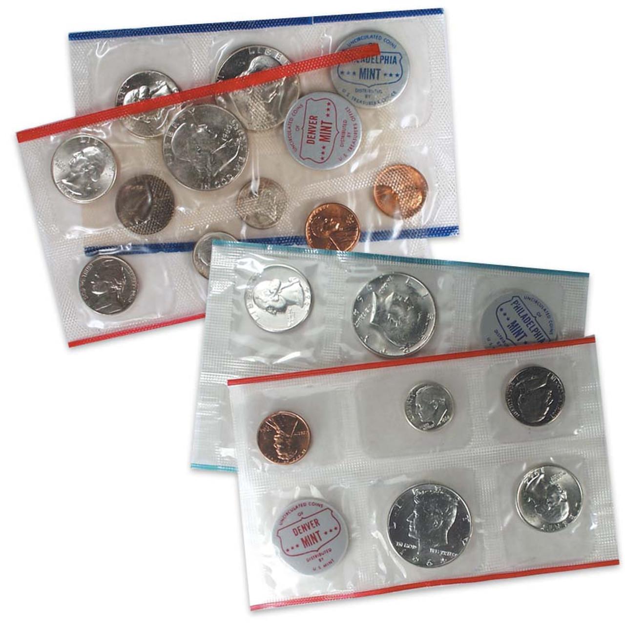 1960 & 1964 Mint Set Pair