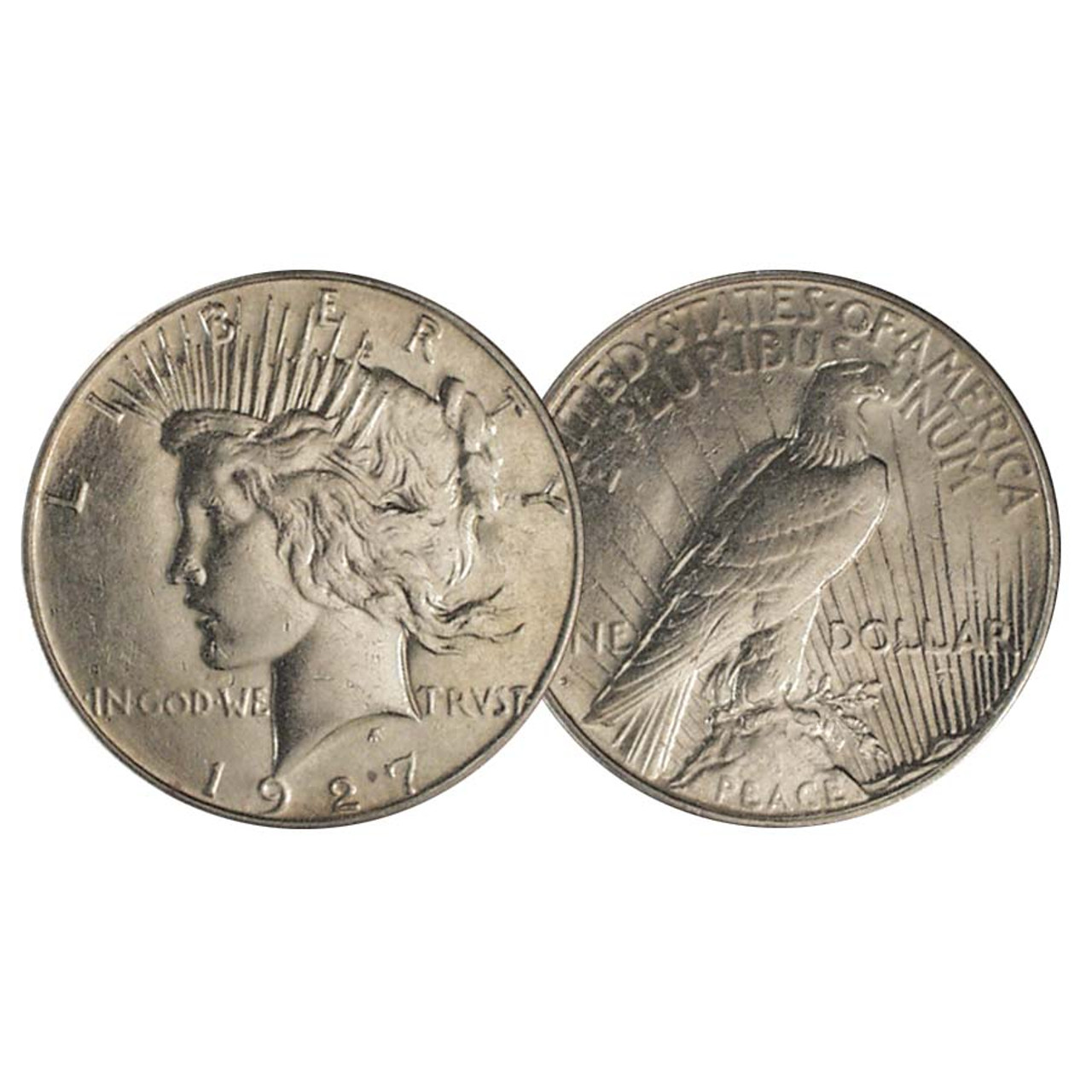 1927-S Peace Silver Dollar Extra Fine Image 1