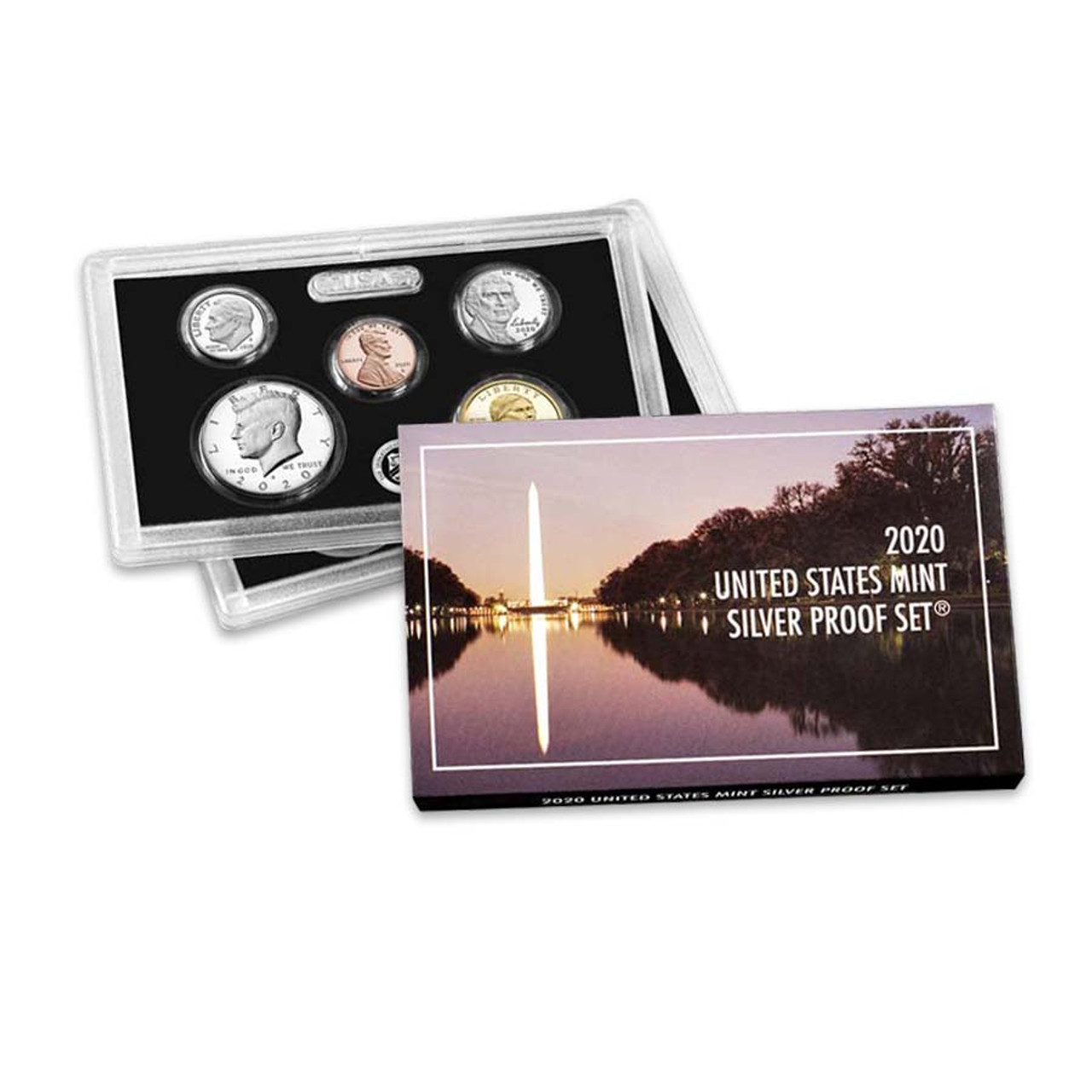 2020 Silver Proof Set Image 1