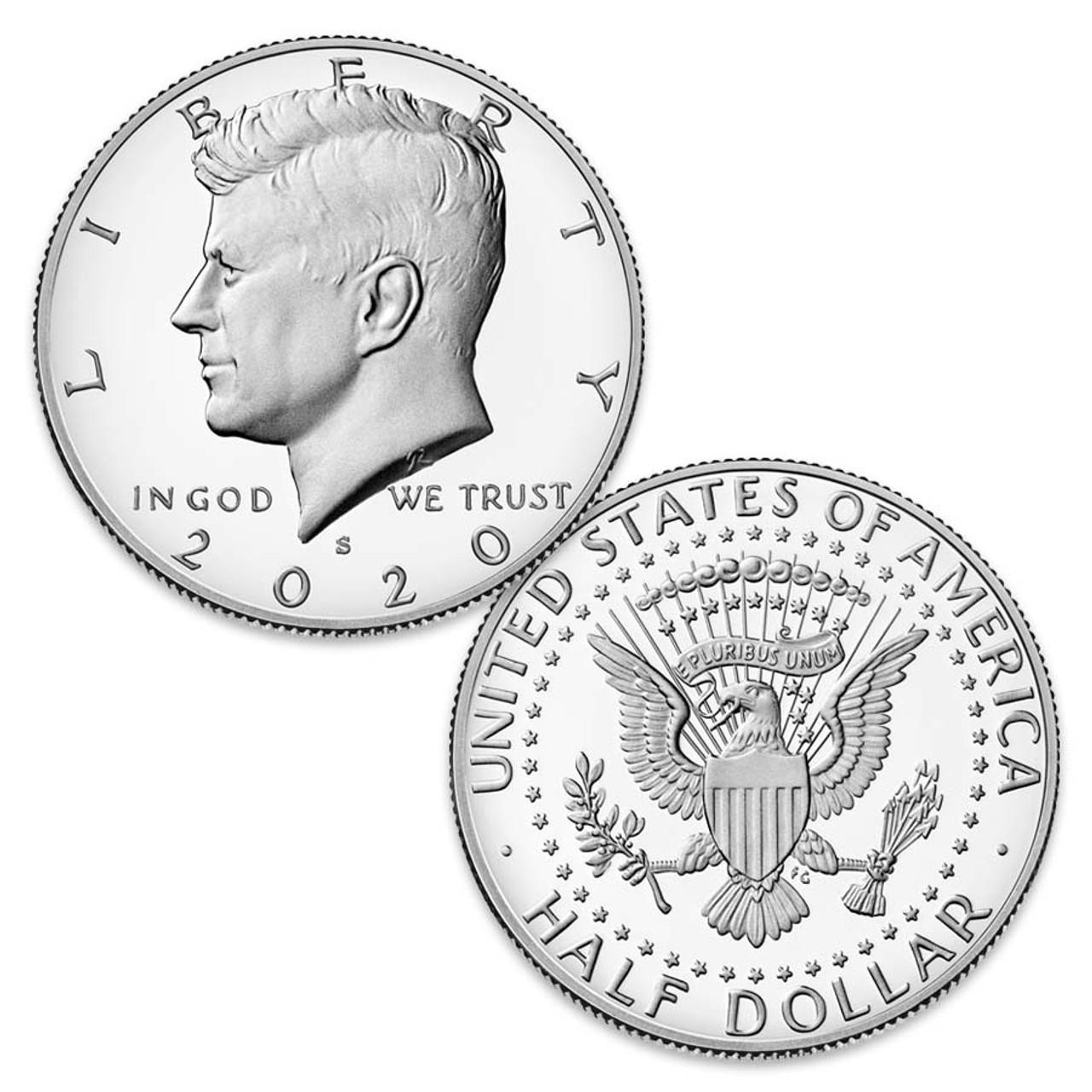 2020-S Kennedy Half Dollar Proof Image 1