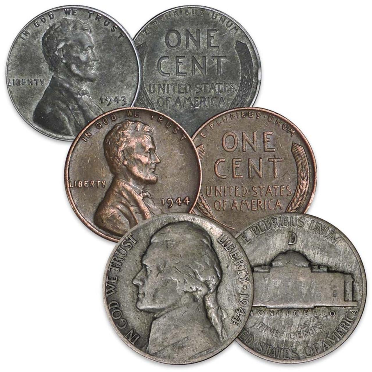World War II 3-Coin Set Image 1