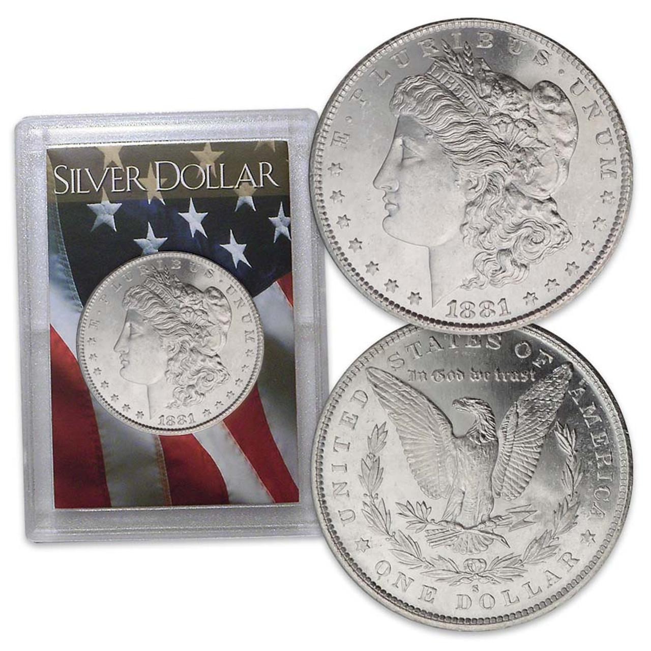 Beauty Queen Morgan Silver Dollar Image 1