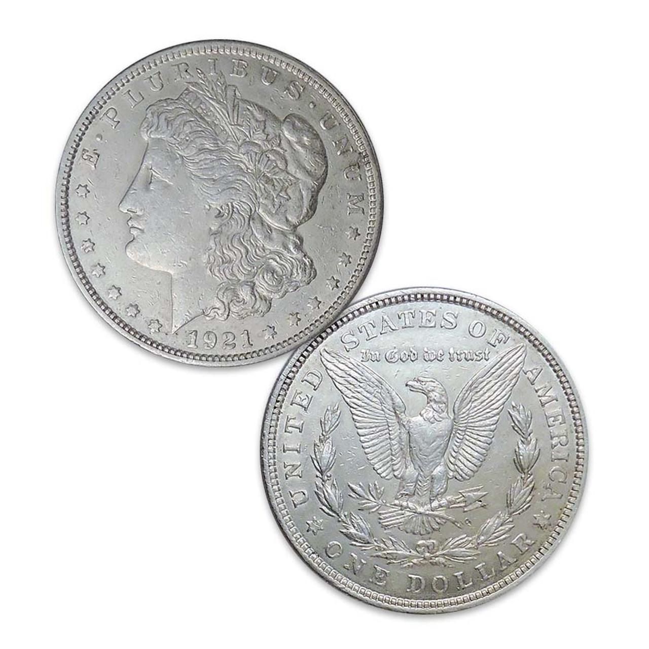 1921-P Morgan Silver Dollar Extra Fine