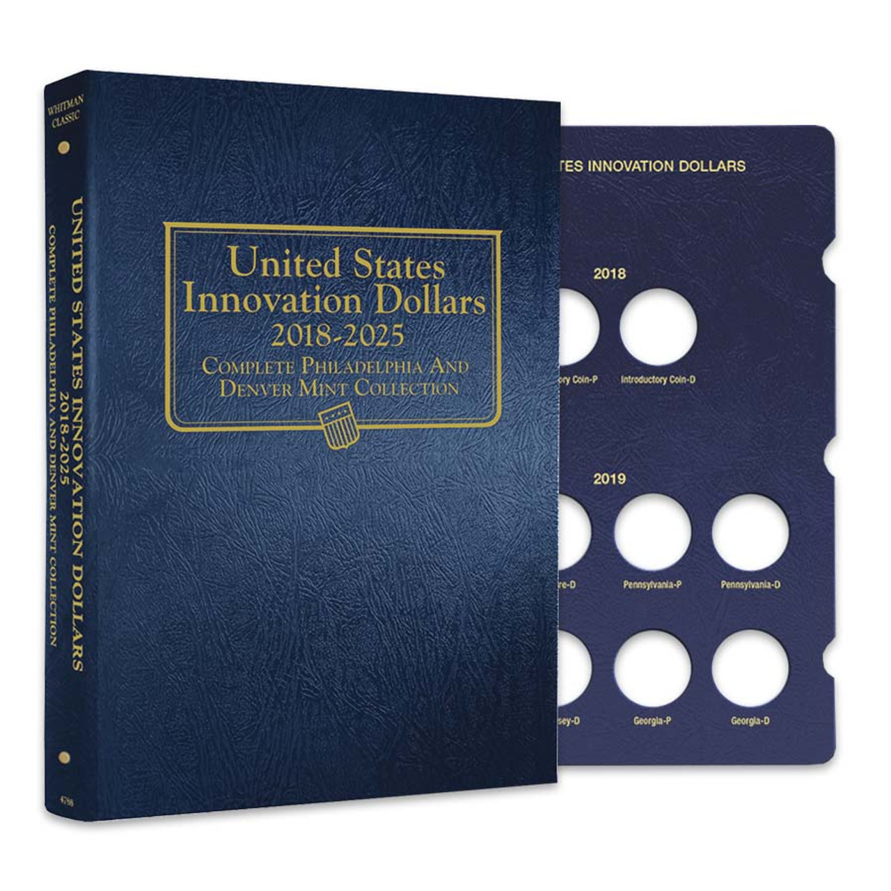 Whitman 2018-2025 Innovation Dollar P & D Album