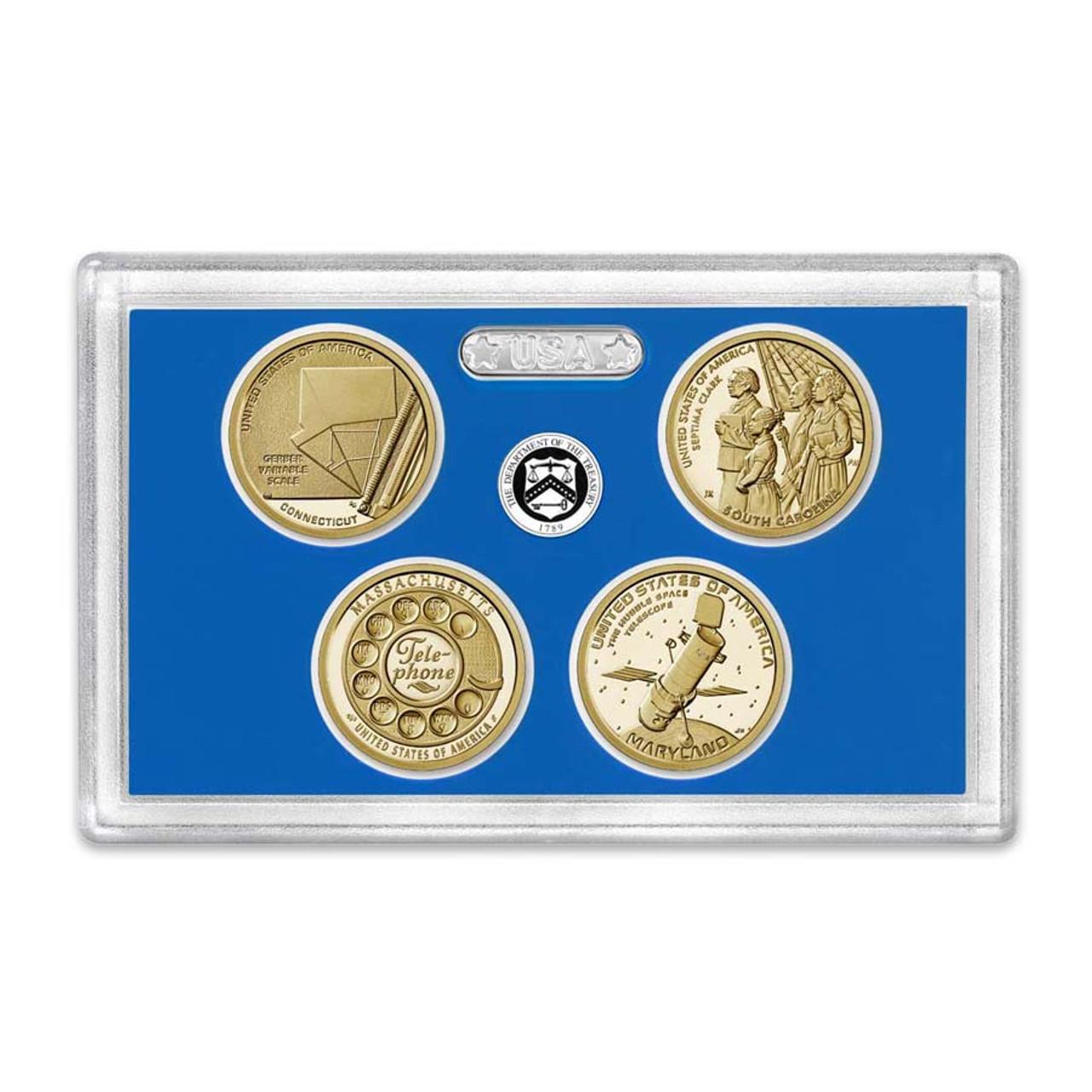 2020 Innovation Dollar Proof Set 4 Coins