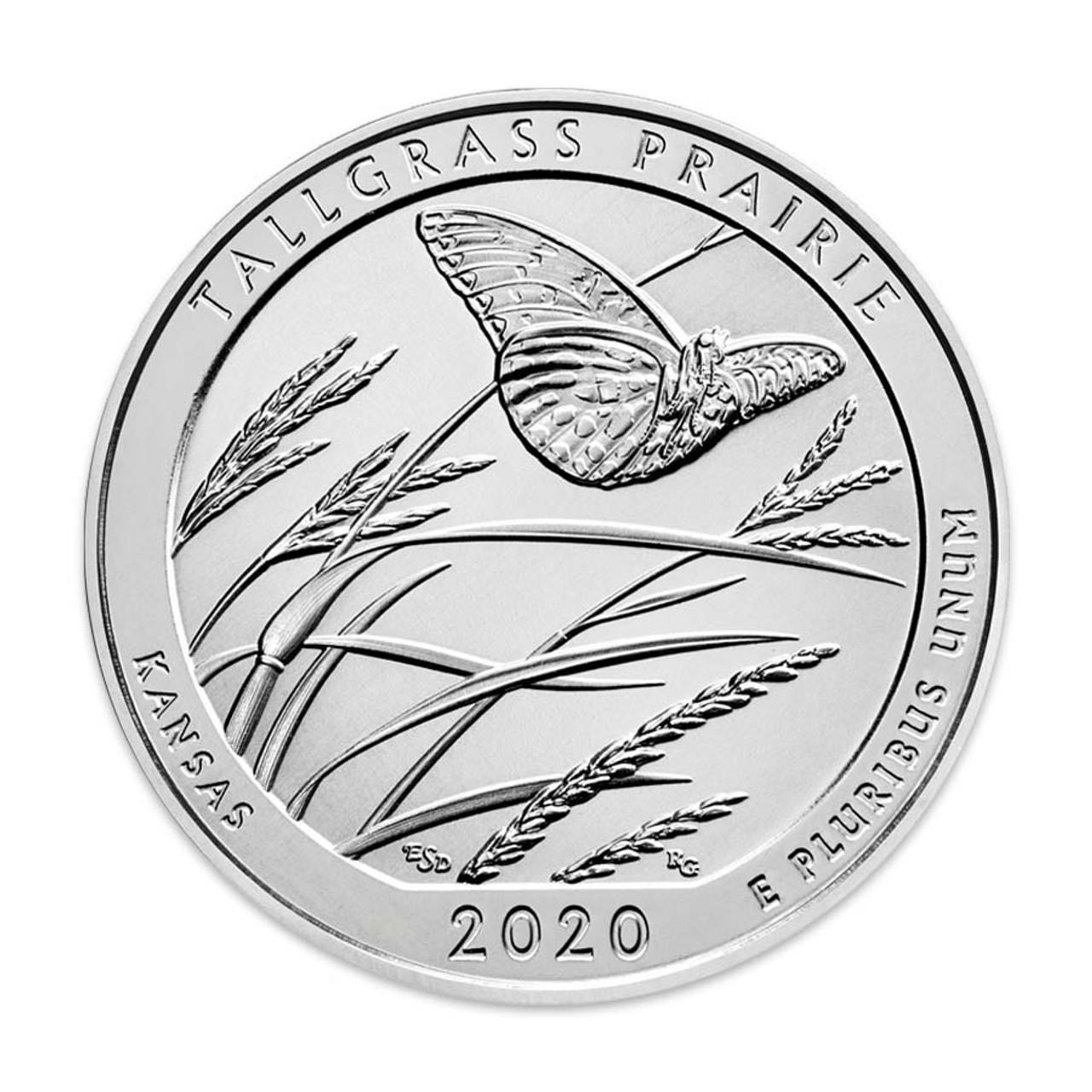 2020-D Tallgrass Prairie National Preserve Quarter Brilliant Uncirculated