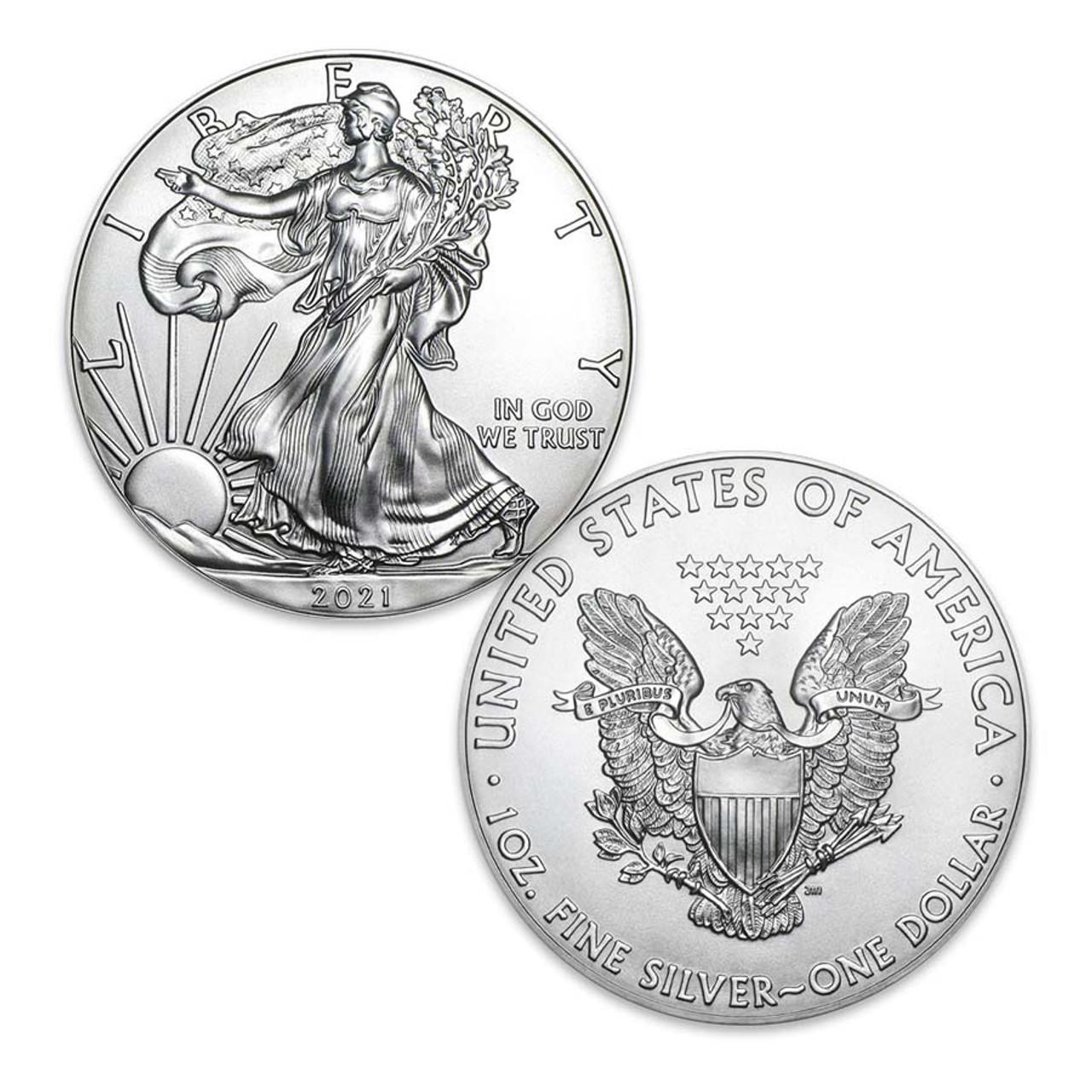 2021 Silver Eagle Brilliant Uncirculated