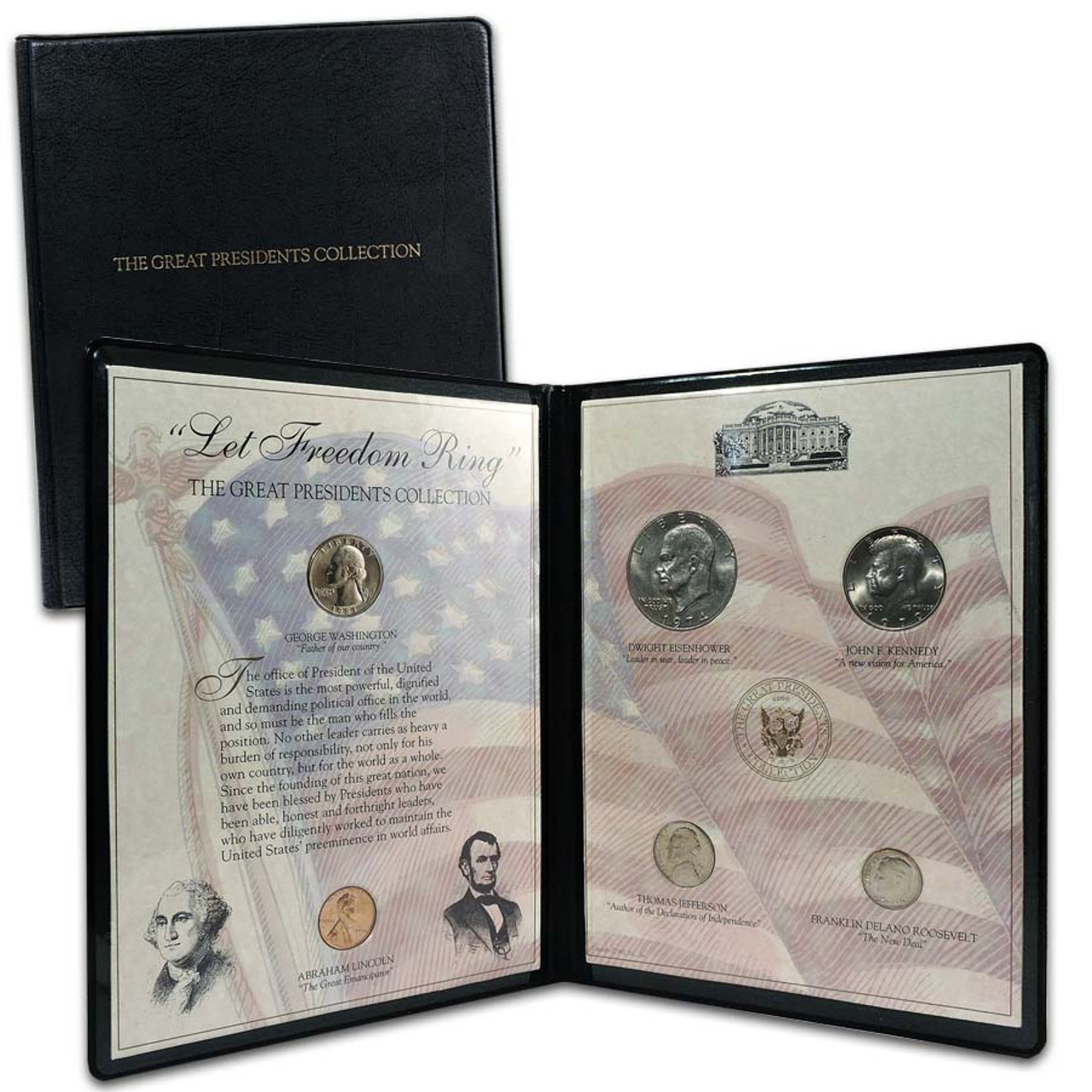 The Great Presidents 6-Coin Collection