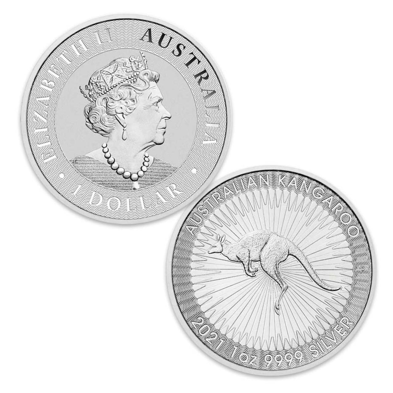Australia 2021 Kangaroo 1-Oz. Silver Dollar Brilliant Uncirculated