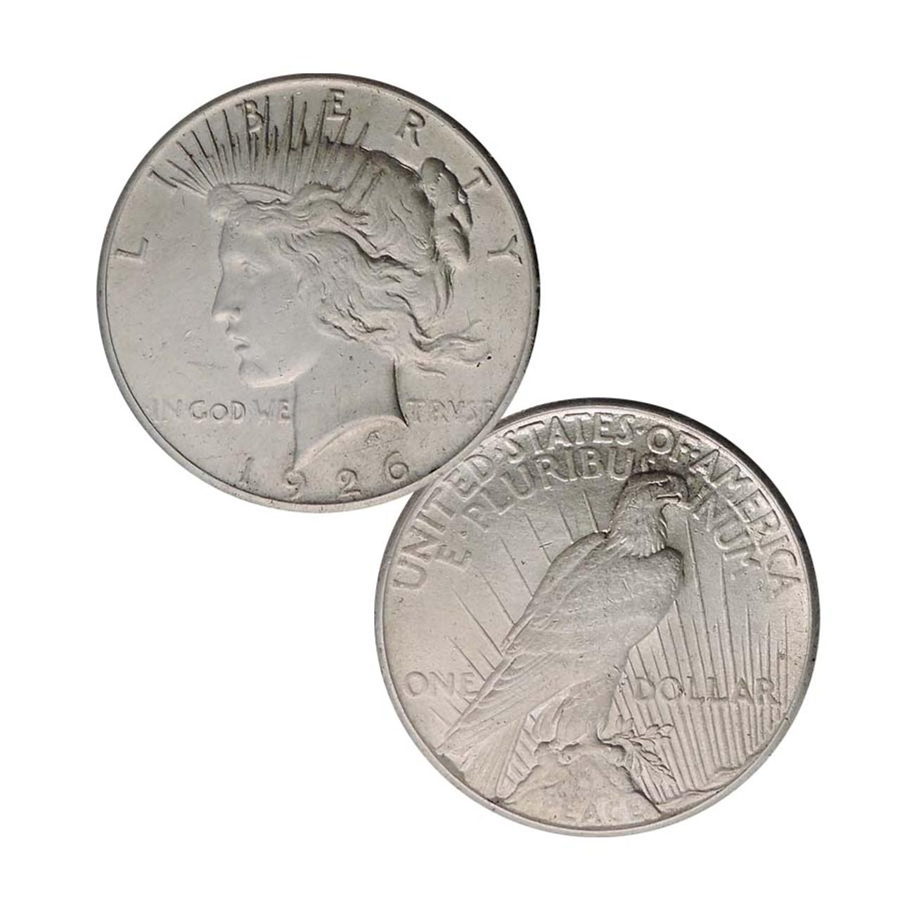 1926-P Peace Silver Dollar Extra Fine