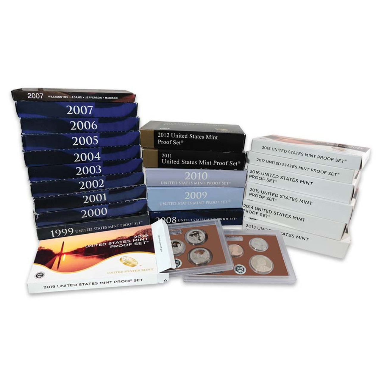 1999-2019 Proof Set Collection
