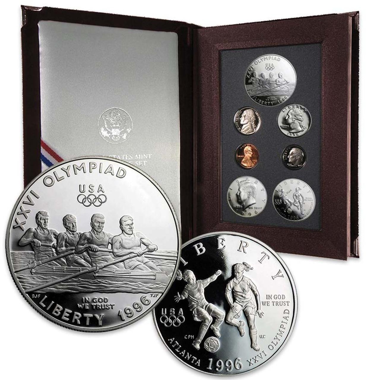 1996 Prestige Proof Set 7 Coins