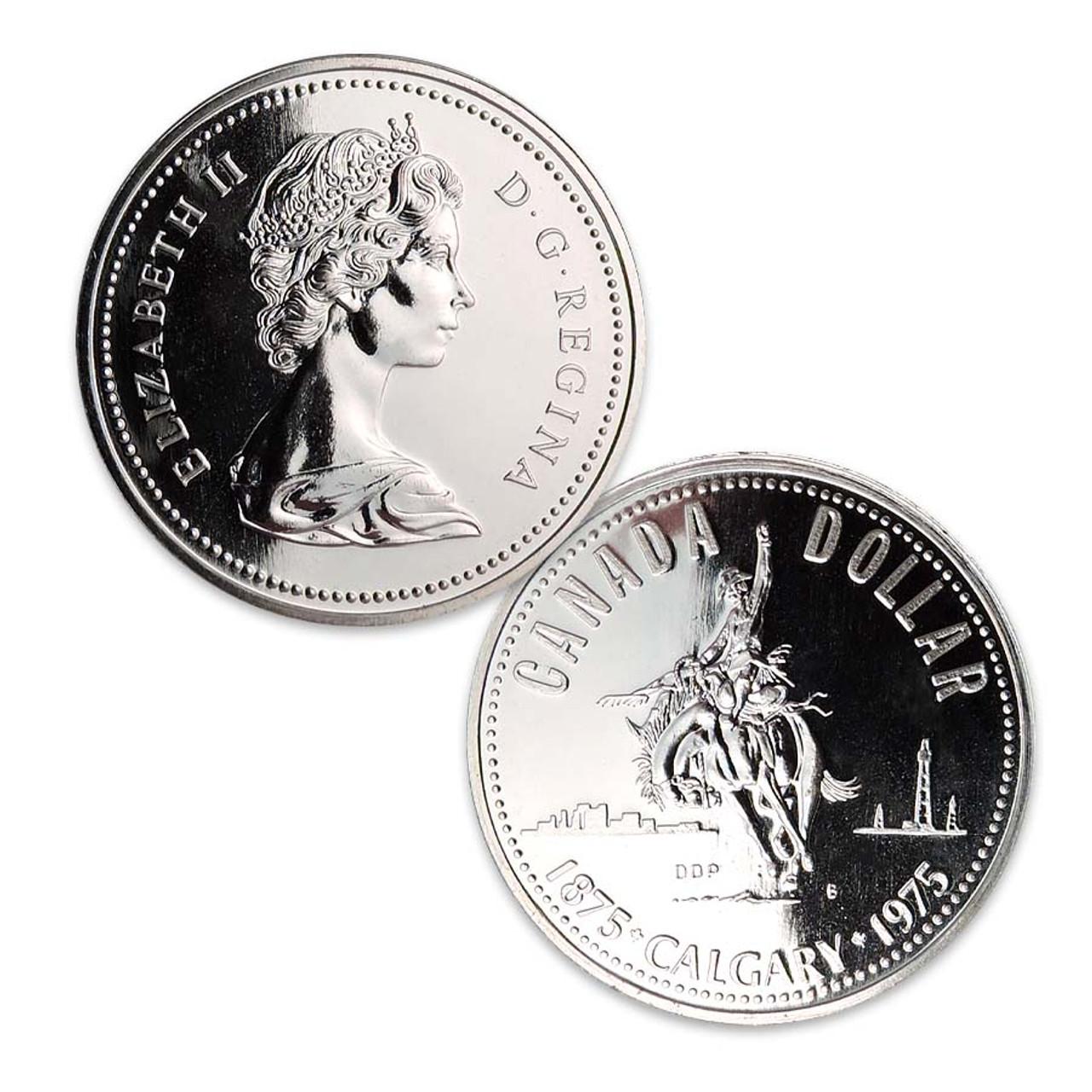 Canada 1975 Calgary Dollar Image 1