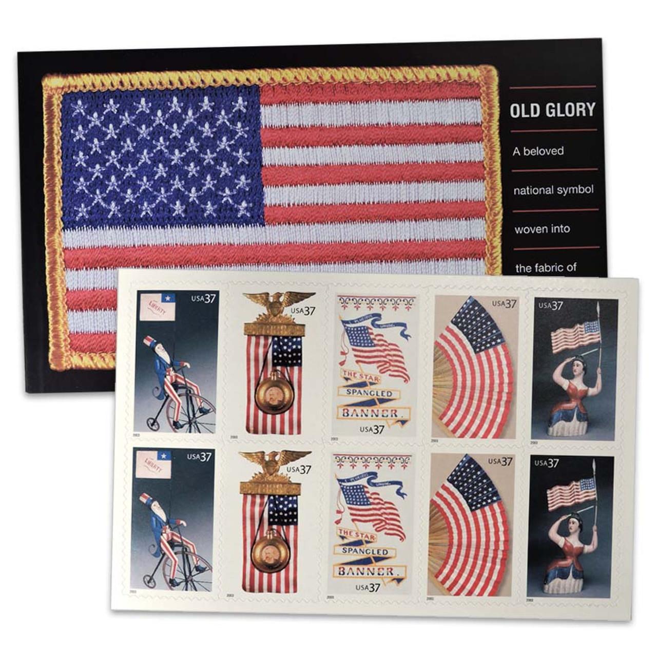 2003 Old Glory Prestige Stamp Booklet