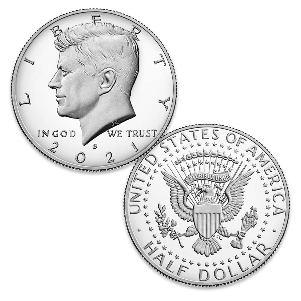 2021-S Kennedy Half Dollar Proof