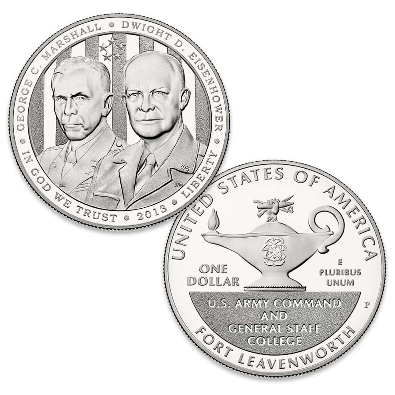 2013 Five-Star Generals Silver Dollar Proof