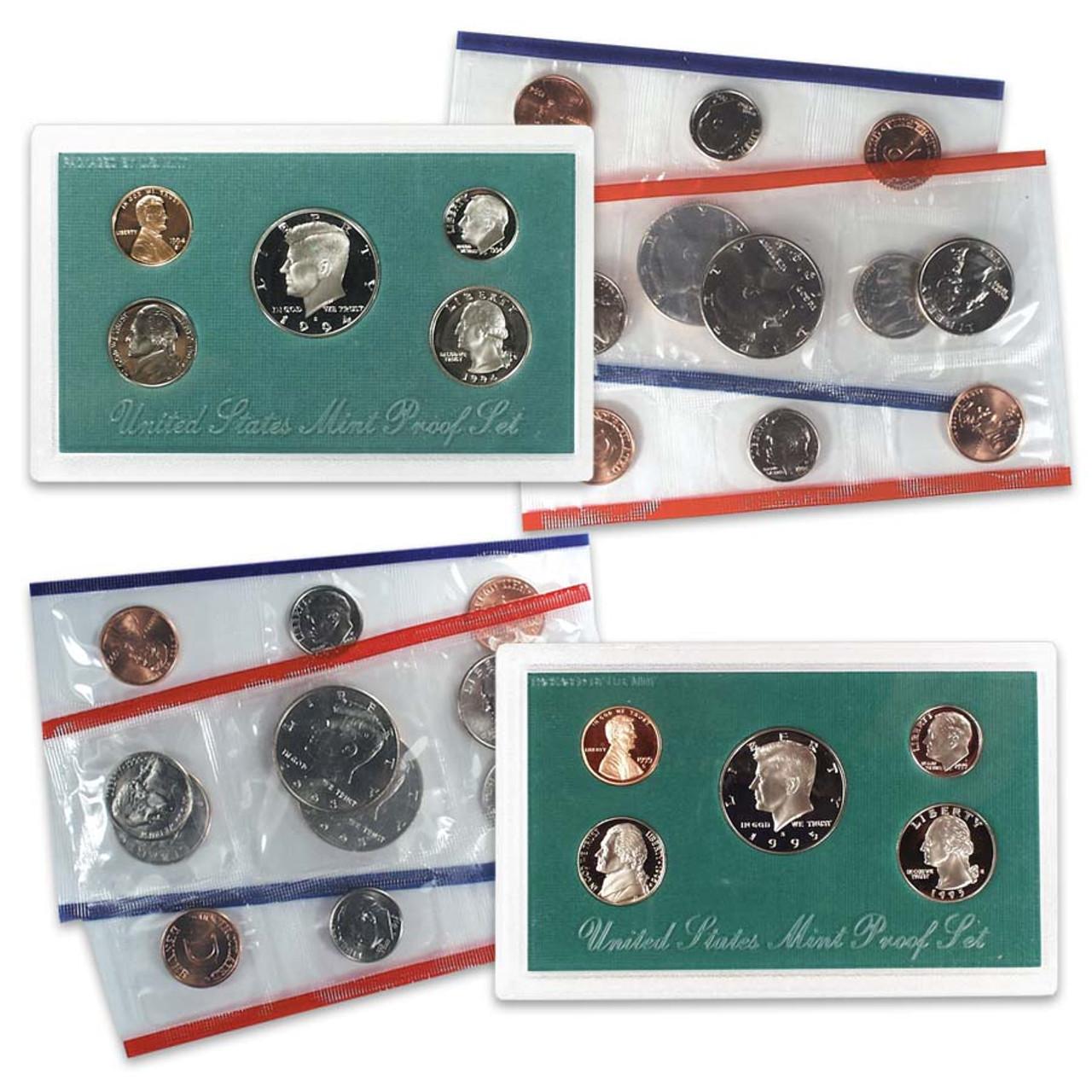 1994 & 1995 Proof & Mint Set Collection