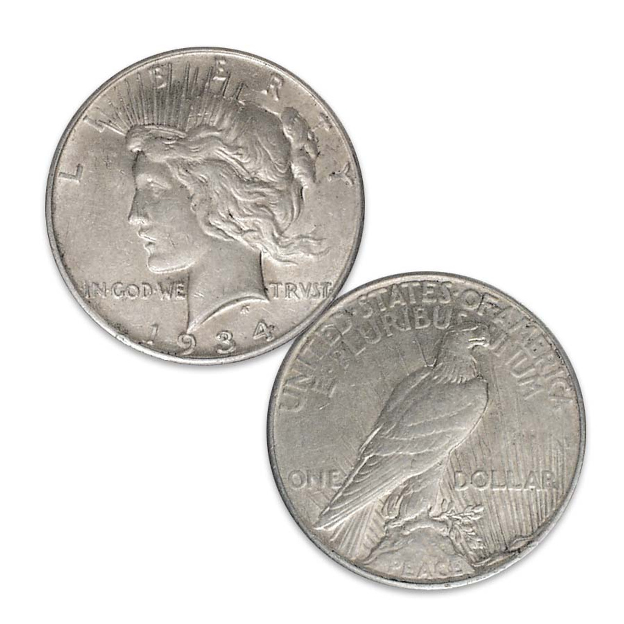 1934-P Peace Silver Dollar Extra Fine