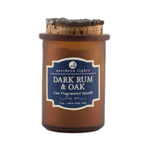 Dark Oak & Rum Spirit Candle