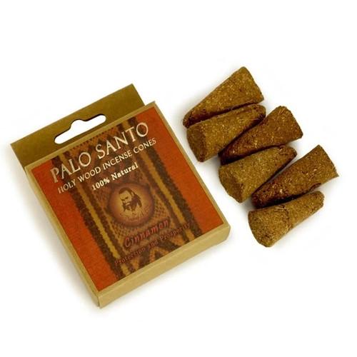 Palo Santo and Cinnamon Prabhuji Smudging Incense Cones