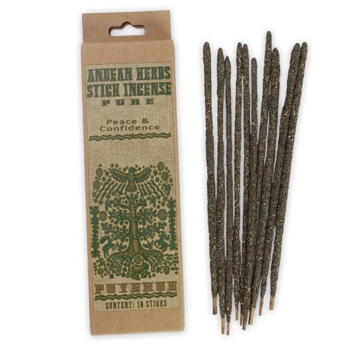 Pure Prabhuji Andean Herbs Smudging Incense Sticks