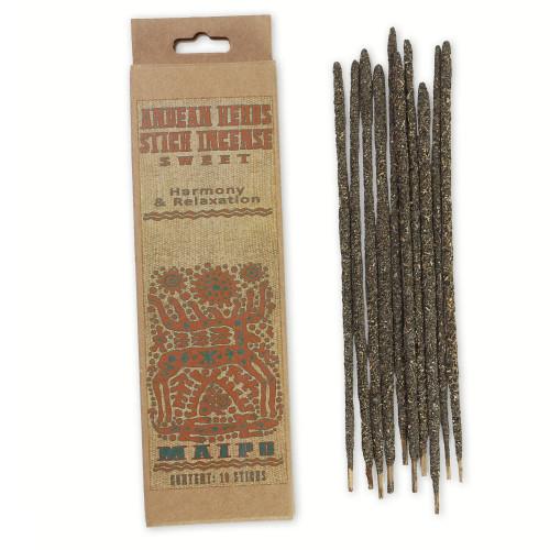 Sweet Prabhuji Andean Herbs Smudging Incense Sticks