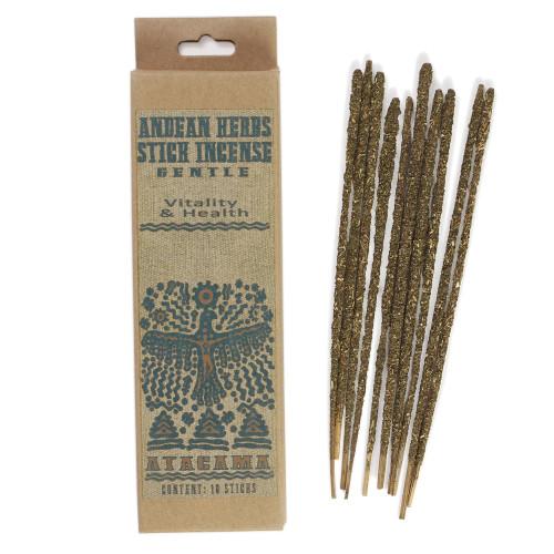 Gentle  Prabhuji Andean Herbs Smudging Incense Sticks
