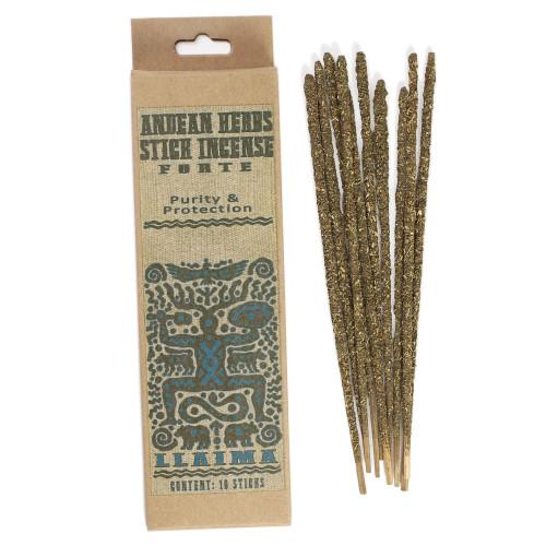Forte  Prabhuji Andean Herbs Smudging Incense Sticks