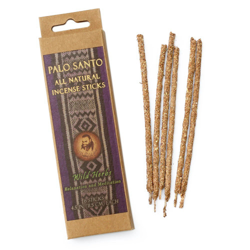 Palo Santo and Wild Herbs Prabhuji Smudging Incense Sticks