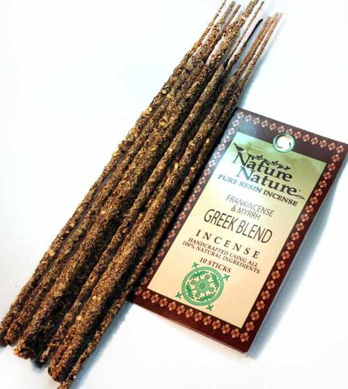 Nature Nature - Frankincense & Myrrh Greek Blend Resin Incense
