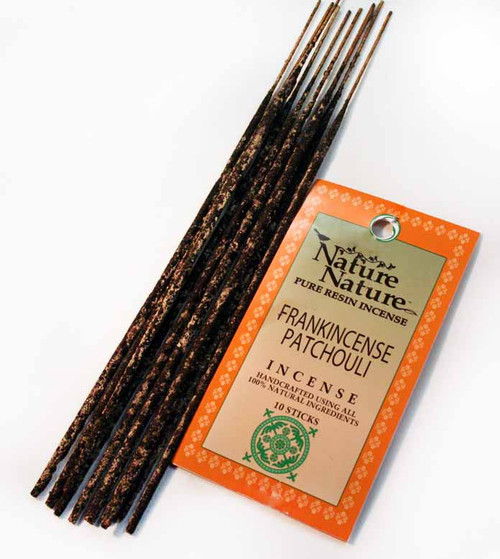 Nature Nature - Frankincense & Patchouli Resin Incense