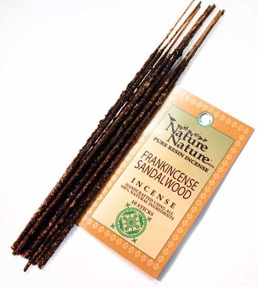 Nature Nature - Frankincense & Sandalwood Resin Incense