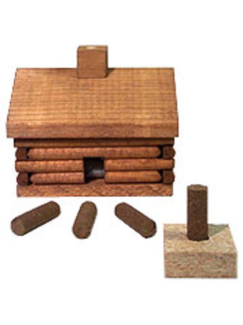 Paines Log Cabin Incense Burner