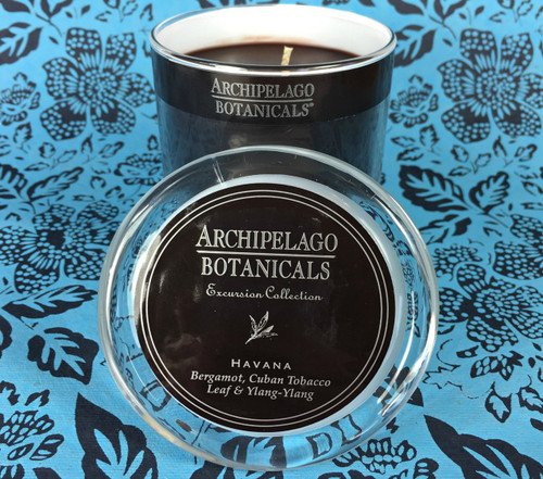 Archipelago Botanicals - Havana Glass Jar Candle