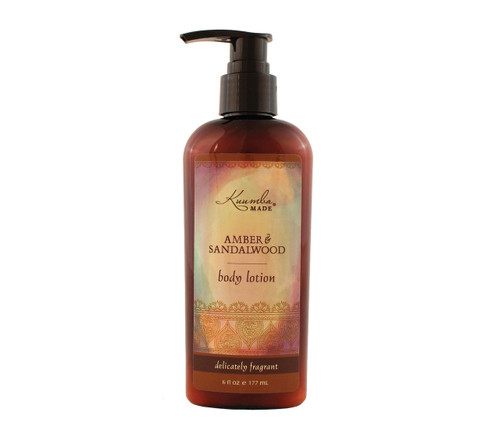 Kuumba Made - Amber Sandalwood Lotion - Lg