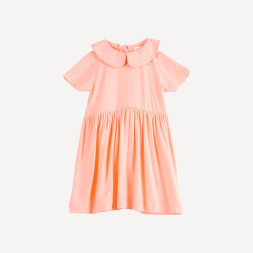 peterpan dress   bamboo   peach