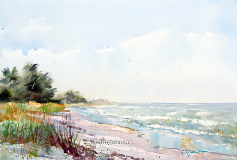 Beach Waves SOLD