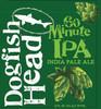 Dogfish 60min, 6 pack 12oz bottles