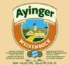 Ayinger Weizenbock, 16.9oz bottle