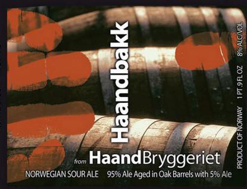 HaandBryggeriet HaandBakk, 16.9oz bottle
