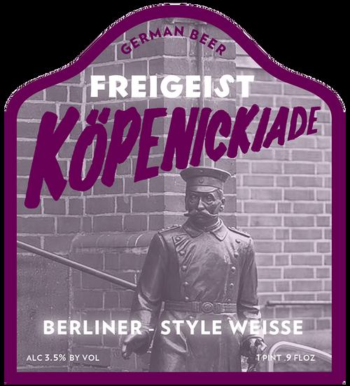 Freigeist Kopenickiade, 16.9oz bottle