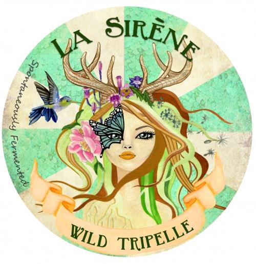 La Sirene Wild Tripelle, 375ml bottle